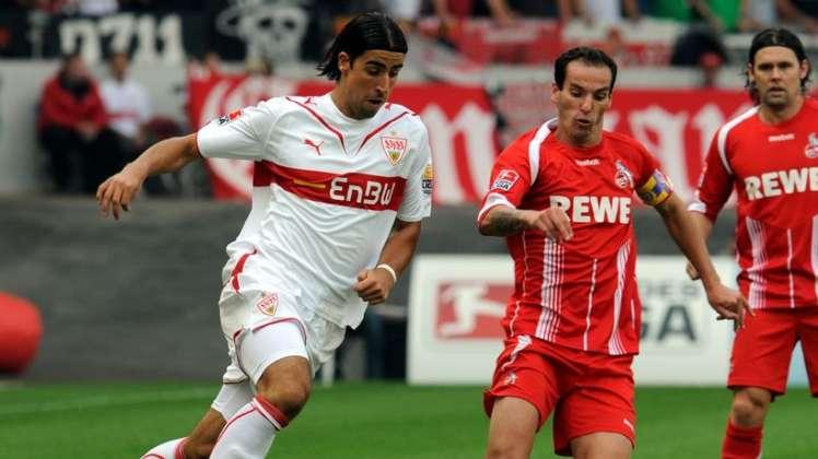 سامي خضيرة مع شتوتجارت والذي حقق معهم لقب الدوري الألماني وظل بالنادي لمدة كبيرة قبل الأنتقال للريال