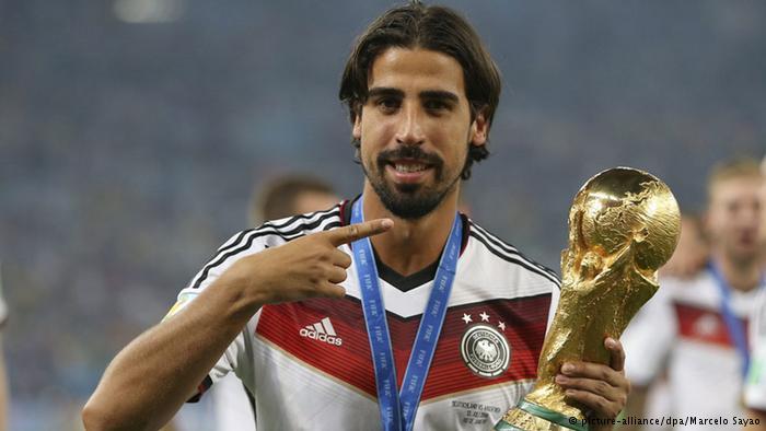 سامي خضيرة لاعب المنتخب الألماني والذي يعد أساسيا منذ 2009 ويثق لوف مدرب ألمانيا في قدراته بمنتصف الملعب
