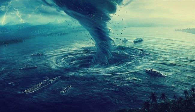 عواصف مثلث برمودا