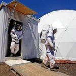 علماء في محاكاة المريخ