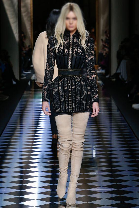 3ae5eed1460ae أزياء مميزة من دار الأزياء الشهيرة بالمان (Balmain)
