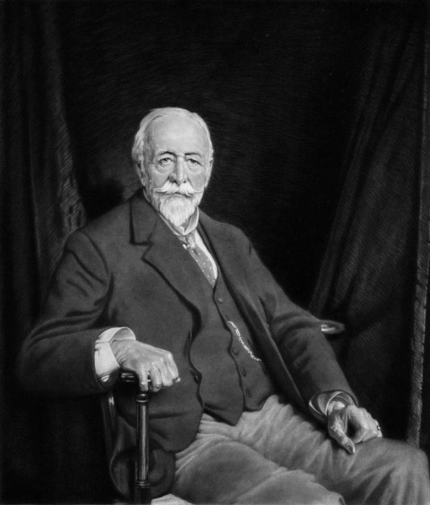 مخترع الترمومتر كليفورد آلبوت