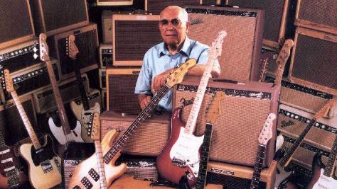 ليو فيندر مخترع الجيتار الصلب