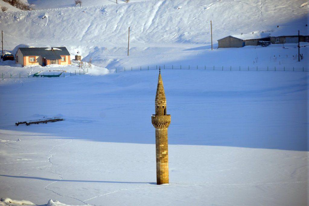 مئذنة الثلج في تركيا
