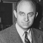 """الإيطالي """" أنريكو فيرمي """" مخترع المفاعل النووي."""