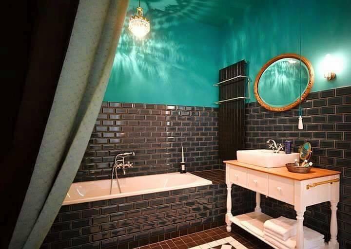 Brick bricks in the bathroom  Modern in bathroom Modern in bathroom  D9 85 D8 AF D8 A7 D9 85 D9 8A D9 83  D8 A7 D9 84 D8 B7 D9 88 D8 A8  D9 81 D9 8A  D8 A7 D9 84 D8 AD D9 85 D8 A7 D9 85