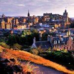 مدينة ادنبرة القديمة والجديدة