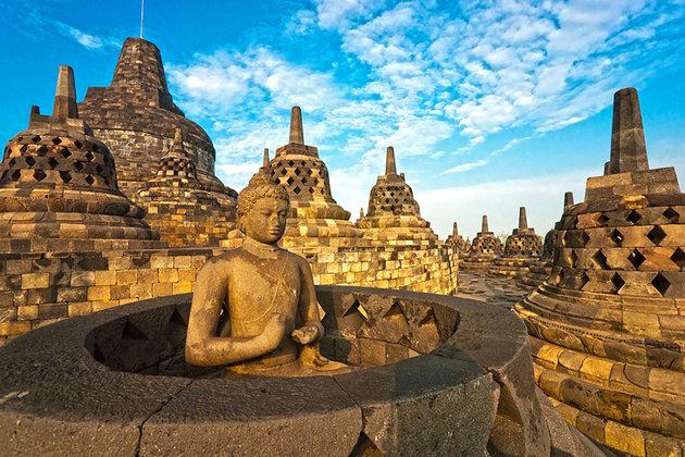 معبد Borobudur بوروبودور