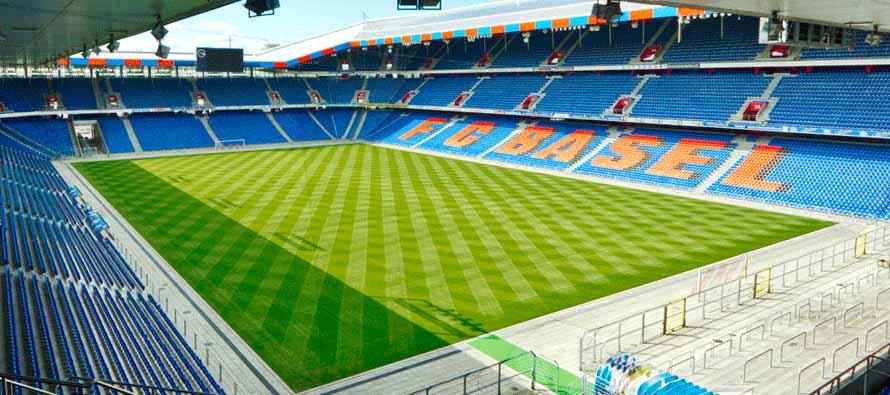 ملعب جاكوب بارك والذي يسع ل 38 ألف متفرج والذي أستضاف بطولة أوروبا عام 2008