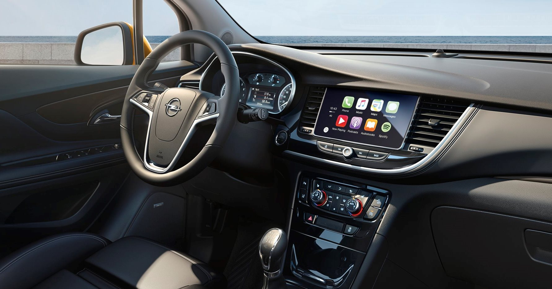 for Interieur opel mokka