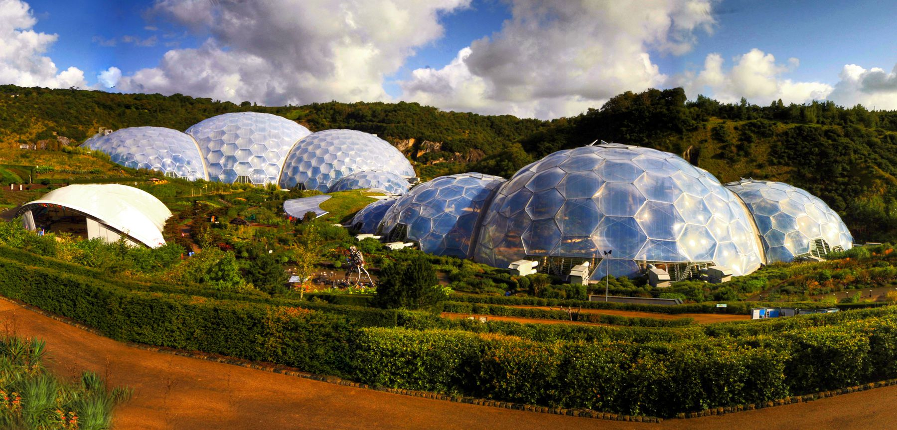 Eden Project Inside Garden