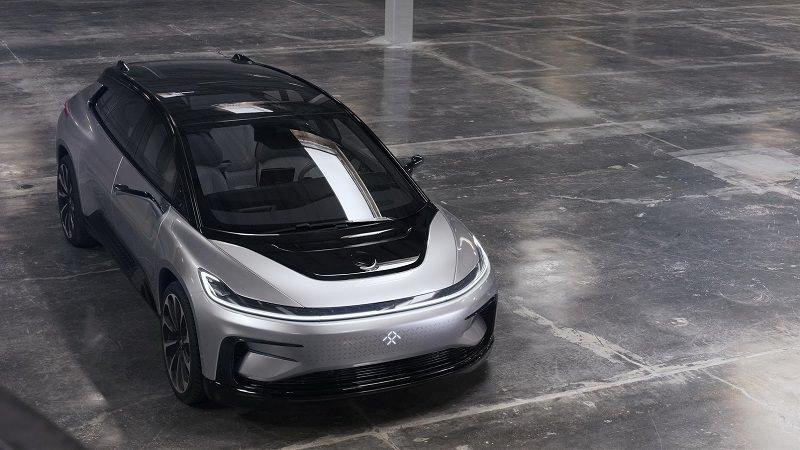 التصميم الخارجي للسيارة FF 91 موديل 2018 الجديدة :