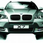 الصور الاولى لـ BMW X7 2017