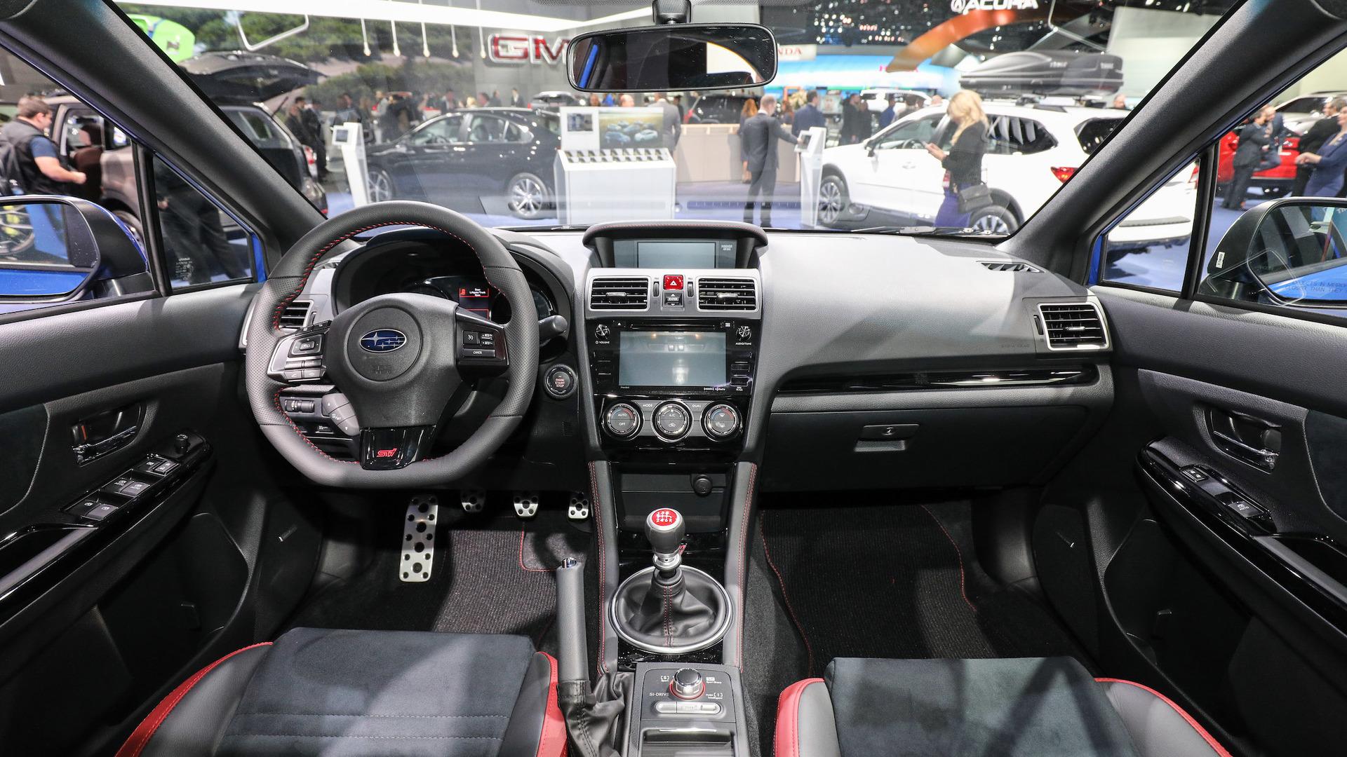صور سوبارو امبريزا WRX 2018 .. صور+مواصفات+اسعار 2017 video Internal-2018-Subaru