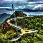 جسر السماء و التلفريك في لانكاوي