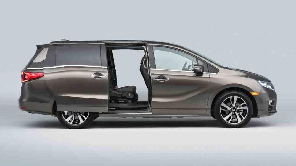 صور هوندا اوديسي 2018 .. الجيل الخامس و الجديد 2017 video Side-Honda-Odyssey-2