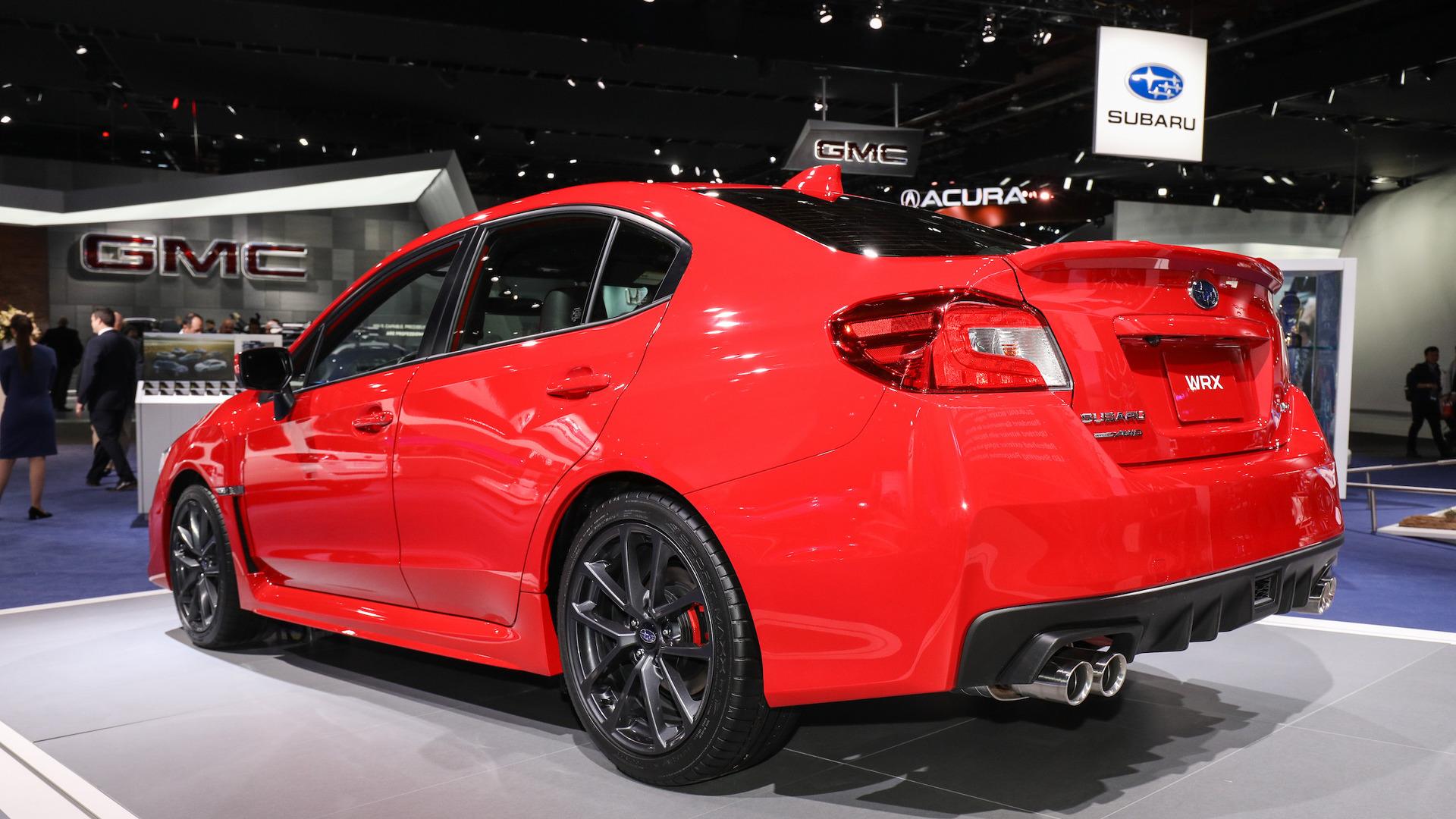 التصميم الخلفي للسيارة سوبارو امبريزا WRX 2018