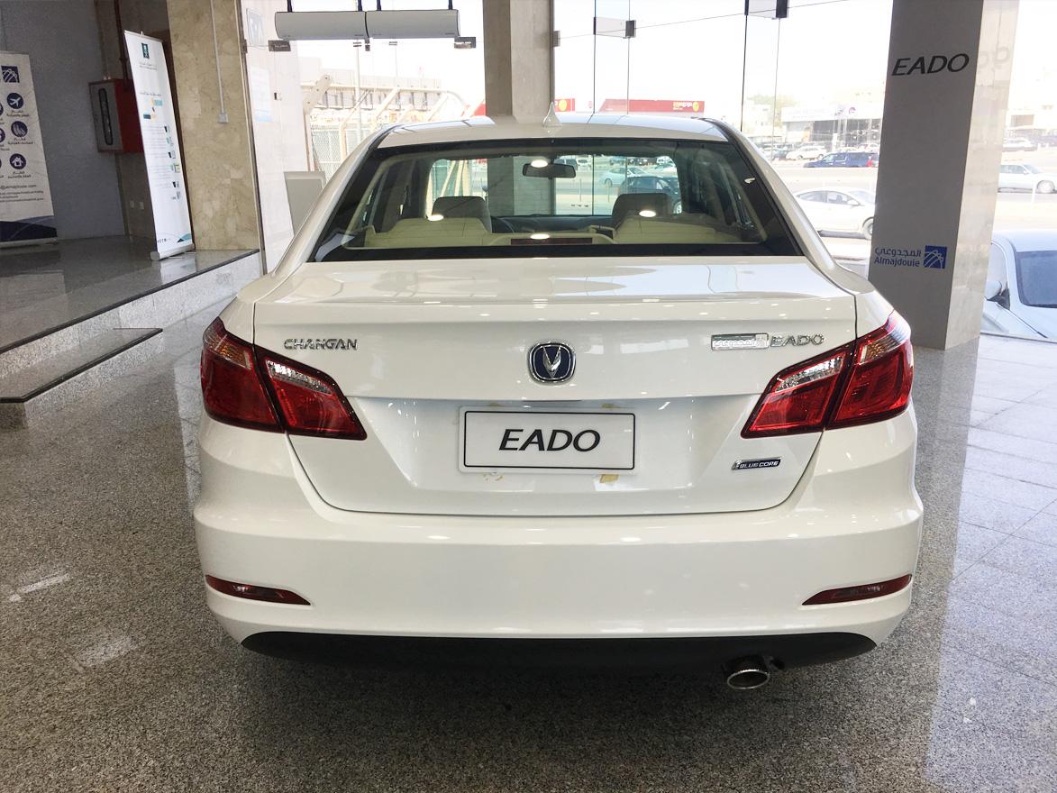 التصميم الخلفي للسيارة شانجان ايدو 2017