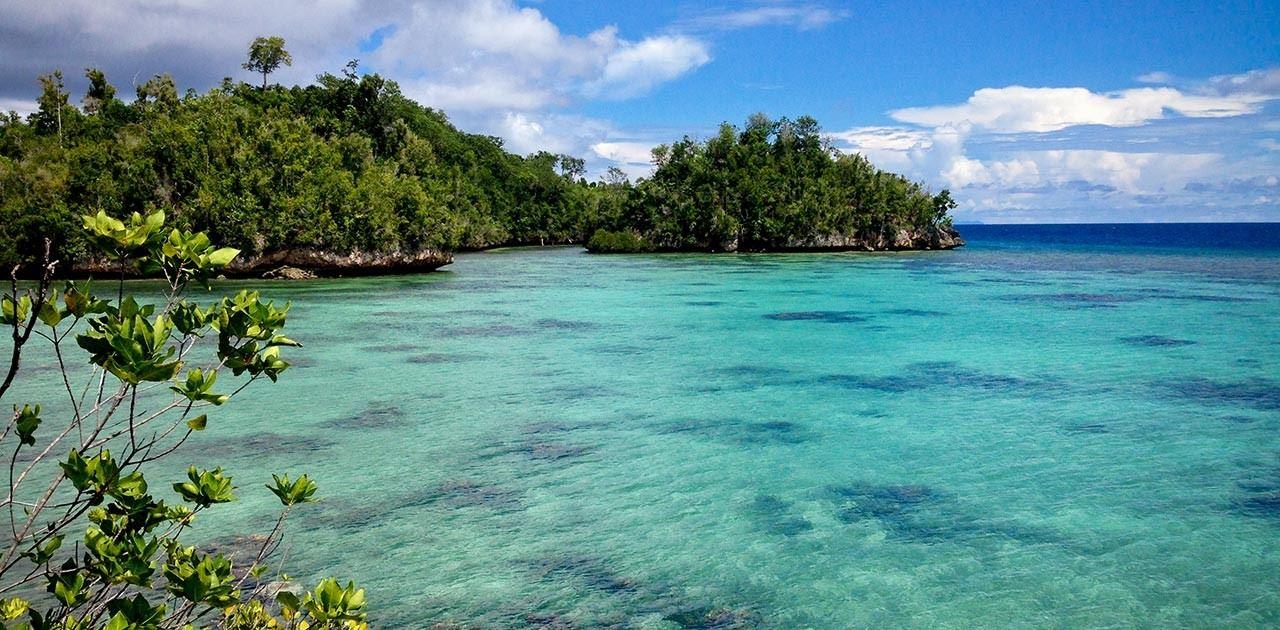 طبيعة جزر توجيان