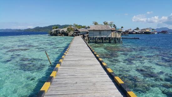 الغطس في جزر توجيان