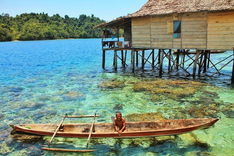 جزيرة ميلانجي ضمن جزر توجيان