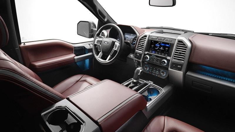 قوة المحرك والأداء للسيارة فورد اف 150 موديل 2018 الجديدة :