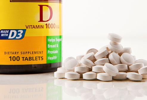 كيفية أخذ فيتامين D3 المرسال