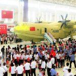 الصين تقدم أكبر طائرة برمائية في العالم