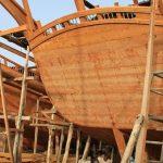 صناعة السفن في سلطنة عمان