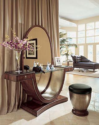 تسريحة غرفة النوم بلمسة ديكور عصرية المرسال