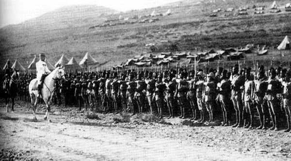1920 Nebi Musa Riots: معركة ميسلون