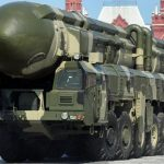Russian intercontinental ballistic missile - 447953