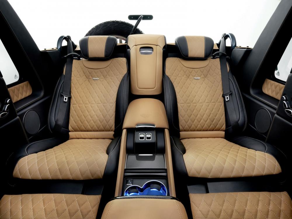 تصميم مرسيدس مايباخ G650 Landaulet