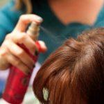 اضرار استخدام بخاخ الشعر أثناء الحمل