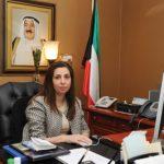 رولا دشتي …. سيدة كويتية على مقعد الوزارة
