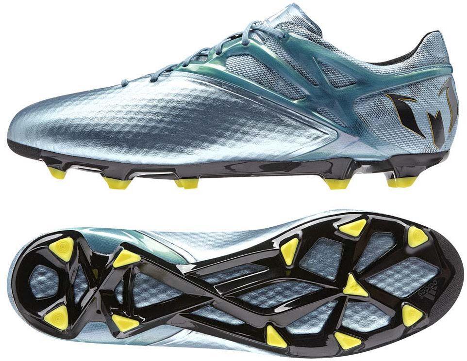 993f46e2a ... حذاء كرة قدم ماركة أديدس ذا اللون الفضي - 462095 حذاء كرة قدم ماركة  أديداس أسود فسفوري ...