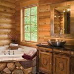 حمامات على الطراز الريفي