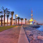 شواطئ منطقة الوطية في الكويت
