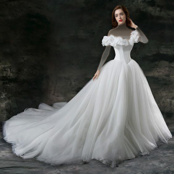2471675a9d875 فساتين زفاف و سهرة مستوحاة من فستان سندريلا