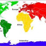 ما هي قارات العالم السبع