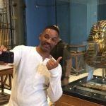 الفنان العالمي ويل سميث في زيارة سياحية لمصر