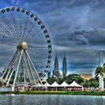 عين على ماليزيا أضخم عجلات العالم في كوالالمبور