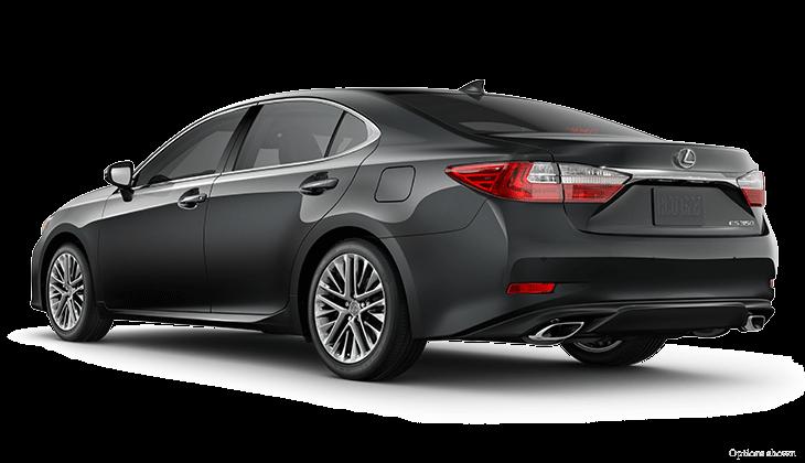 التصميم الخلفي للسيارة لكزس ES 2017