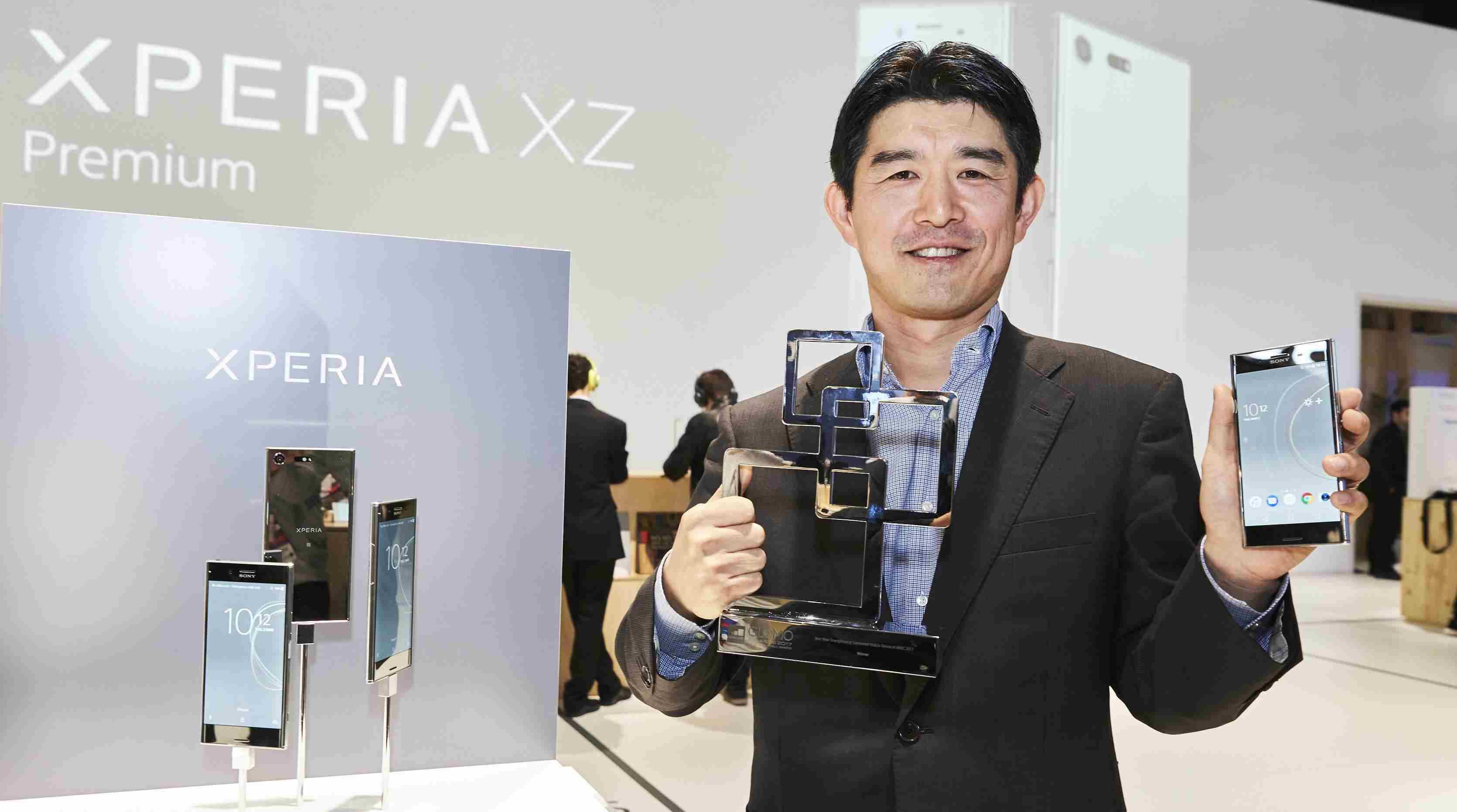 Xperia XZ Premium هو افضل جوال في مؤتمر MWC 2017