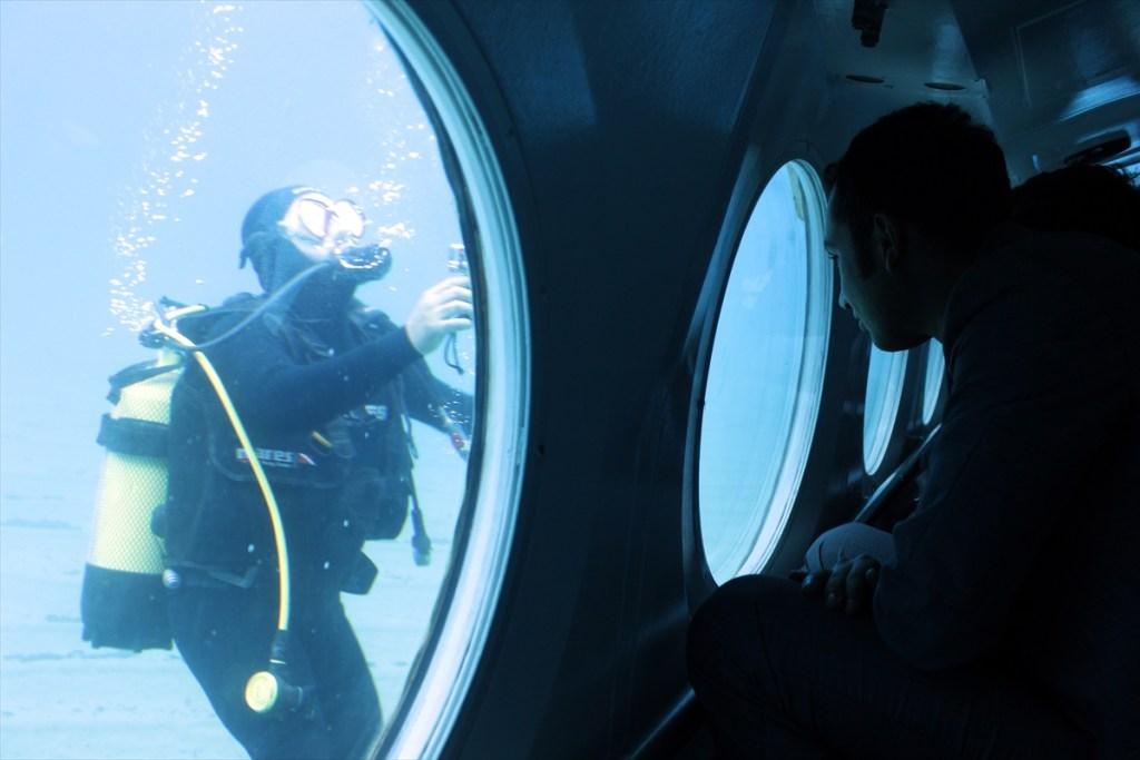 الغوص في أعماق البحار