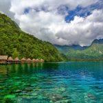 منازل وفيلات فوق المياه في أندونيسيا