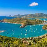اين تقع جزيرة أنتيغوا وبربودا