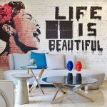 الفن الجرافيتي في ديكور المنزل