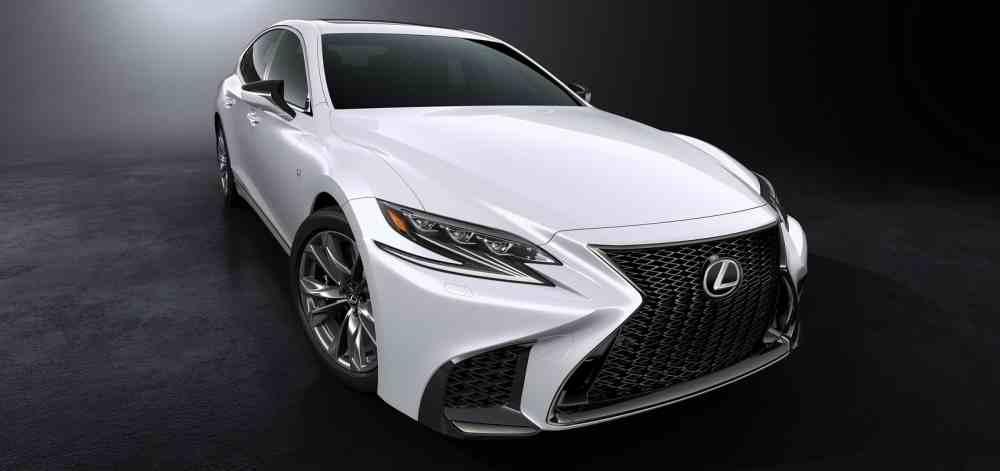 Lexus LS F-Sport 2018