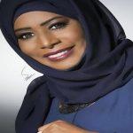 الإعلامية الكويتية ايمان نجم الملقبة بــ ملكة الميكروفون
